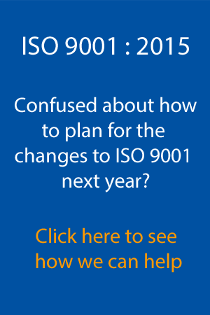 ISO 9001 2015 Workshops
