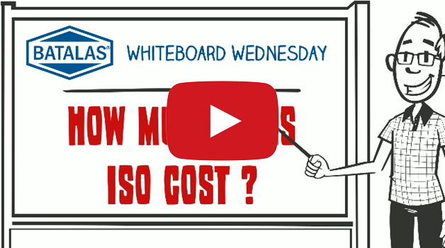 How much does ISO cost?